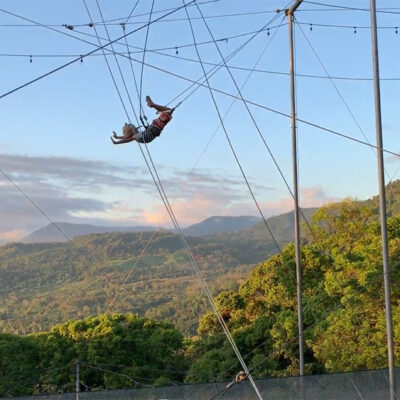 The Flying Family In Costa Rica